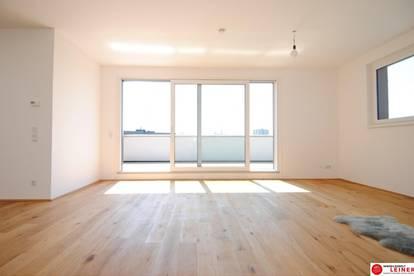 unbefristete, uneinischtige Penthousewohnung in Ruhelage mit 30 m² großer Terrasse