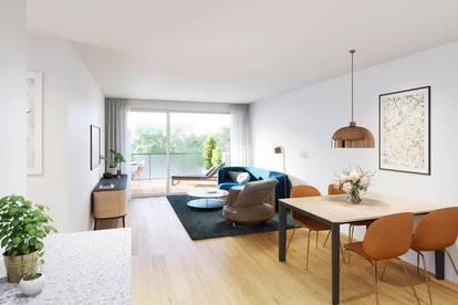 Südseitige 2 Zimmer Eigentumswohnung in ruhiger Lage - Familientraum
