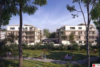 Lofartige Dachgeschosswohnung 117,74m² - 4 Zimmer - 31,81m² Terrasse - Provisionsfreie Mietwohnung am Felmayerpark