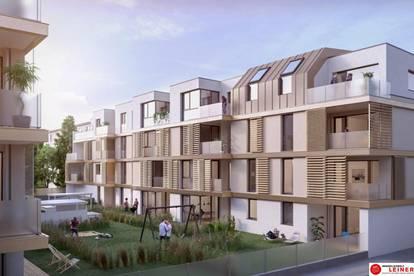 Urban und doch im Grünen - Mietwohnung in Schwechat - 2 Zimmer - Neubau - Loggia & Balkon