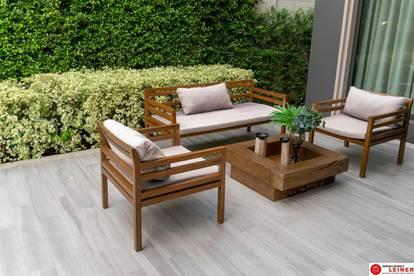 Erstbezug, 3-Zimmer-Gartenwohnung ab NUR € 1.071,- pro Monat