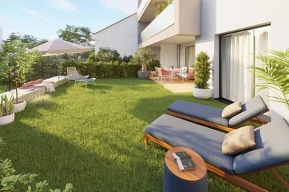 Zentral, provisionsfrei, barrierefrei - 2 Zimmer Eigentumswohnung mit 57,85m² Eigengarten