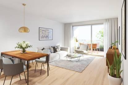 Gemütliche 3-Zimmer Eigentumswohnung mit 17,88m² Terrasse in der schönen Sellingergasse