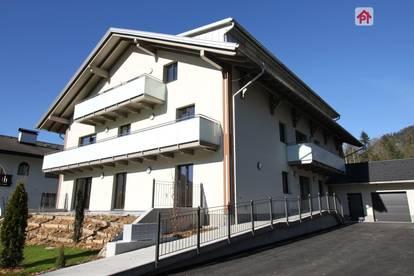 St. Wolfgang: traumhafte 3 Zimmer EG Wohnung mit riesiger Terrasse - bezugsfertig