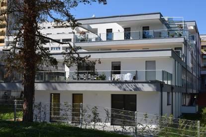 Stadtoase Wels, Top 2.1, Balkon und Terrasse
