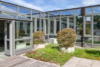 Moderne Büroetage mit Penthouse-Charakter
