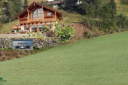 Sonniger Bauplatz für ein Ferienhaus in Saalbach - Hinterglemm