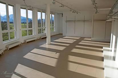 Helle Büro- oder Showroomflächen in Salzburg-Süd