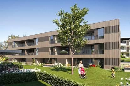 Helle 4-Zimmer-Gartenwohnung mit zwei Terrassen I Top A01