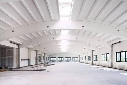 Einzigartig: frei einteilbare Fläche in Spannrahmenhalle im Obergeschoss