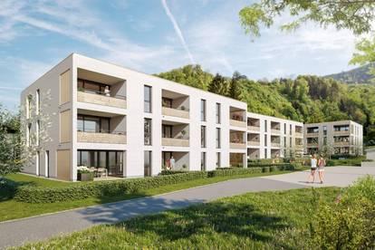 Charmante 3-Zimmer-Terrassenwohnung mit großem Garten I Top B02