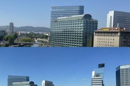 mittendrin am Schwedenplatz die City gehört dir. mit Traum Ausblick  selten & urschön