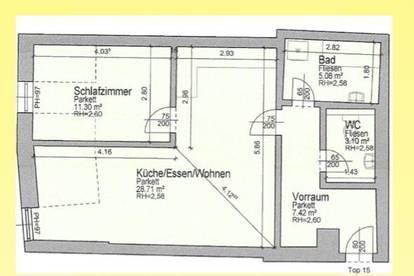Herz - was begehrst du -  Bruttomiete 528,29 EUR  im Zentrum von Feldkirchen