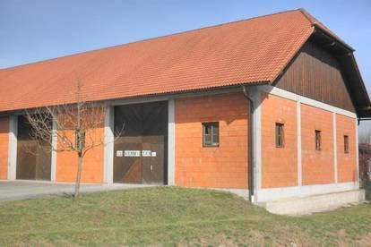 Unbeheizte Lagerhalle mit 4 Einfahrtstoren
