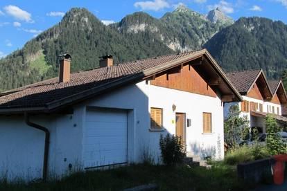 Haus-unverbaubare sonnige Aussichtslage Bürserberg (Rohbau)