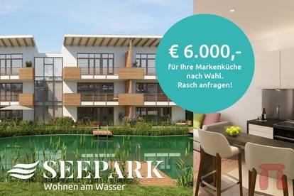 SEEPARK KLAGENFURT - Wohnen am Wasser (Wohnungen Top 37+38 Kombi)