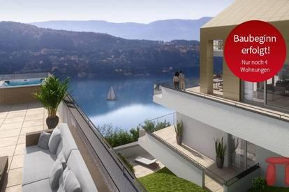 BAUSTART - Wohnbauprojekt mit unverbaubarem Seeblick in Bestlage von Millstatt - Whg TOP A3
