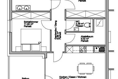 Herrliche 3 Zimmer-Terrassenwohnung!