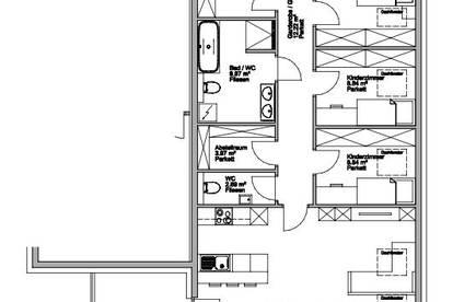 Große 5-6 Zimmerwohnung im Bauvorhaben Gries am Brenner!