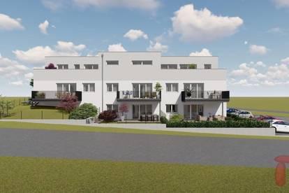3 Zimmer Neubautraum Top 3 in Kallham/Auing mit Eigengarten