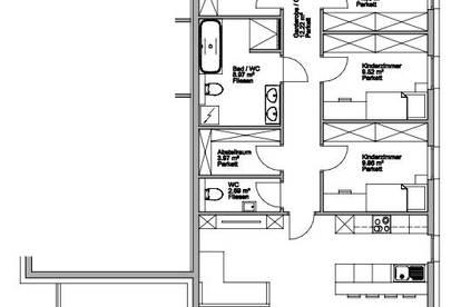 Sonnige 5-6 Zimmerwohnung in Bauvorhaben Gries am Brenner!