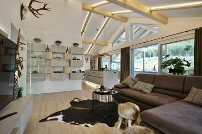 Deluxe Penthouse mit alpinem Flair