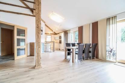 Gemütliche Wohnung mit Seeblick und Bergpanorama