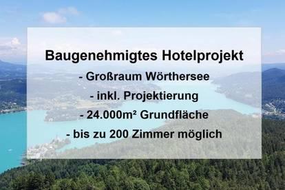 Großraum Wörthersee: Genehmigtes Hotelprojekt