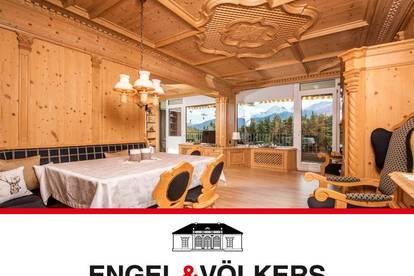 Ferienwohnung im Tiroler-Stil mit Panorama