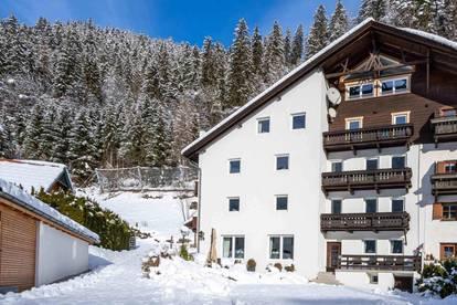 Großes Appartementhaus mit Sauna & Bergblick