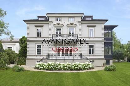 Elegante Gründerzeitvilla + Gästehaus + Garagenplätze
