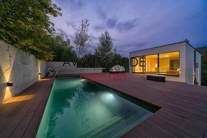Luxuriöse Villa im Loftstil in nobler Penzinger Lage