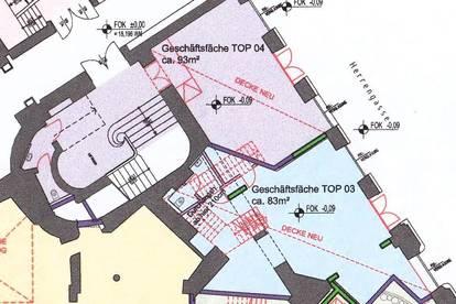 Exklusive Geschäftsfläche in Bestlage, Nähe Kohlmarkt und Michaelerplatz