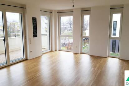 Elegante 3-Zimmer-Wohnung mit Balkon, Garagenplatz und Pool
