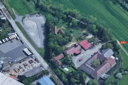 Betriebsgrundstück nähe A1-Drehkreuz beim Gewerbepark Franzosenhausweg (OÖ Traun/Linz)