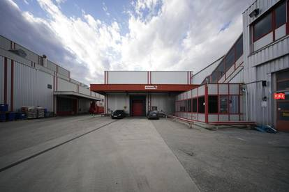 Betriebsliegenschaft mit mehreren Industriehallen in Gewerbegebiet Tulln (Halle2)
