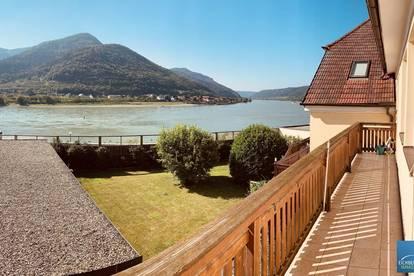 SPITZ / WACHAU: Provisionsfreie 3 Zimmer Wohnung - Donaublick - Balkon