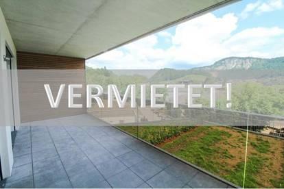 VERMIETET! 2-Zi-NEUBAU-Wohnung mit großem Balkon in Vorderthiersee zu mieten