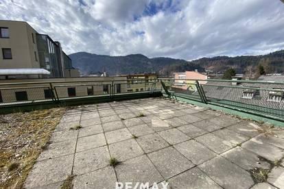 Zentrale 2-Zimmer Terrassenwohnung