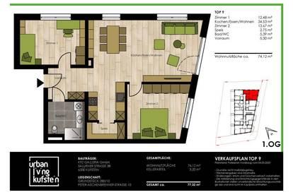 Geräumige 3-Z-Wohnung - Urban Living Kufstein