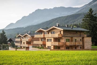 Chalet Kaisergebirge: 4-Zimmer-Luxus-Appartment in Traumlage am Golfplatz Ellmau