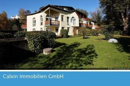 UNIKAT 6-Zi-Stadt-Dachterrassenwohnung in grüner Ruhelage Nonntal nahe Altstadt!