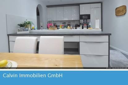 Große 3-Zi-Gartenwohnung114m², Hanglage mit Terrasse und Eigengarten!