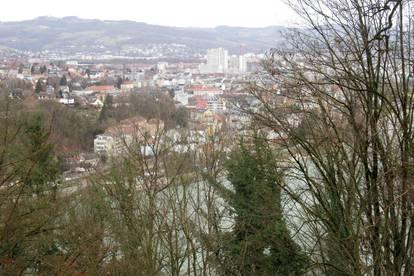 Traumhafter Fernblick auf Linz