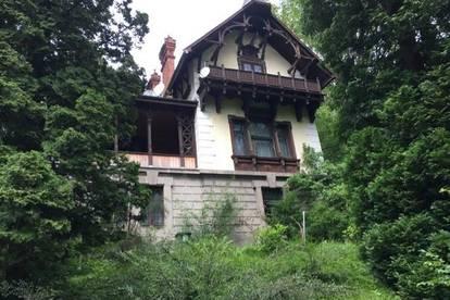 Geschichtsträchtige Villa mit parkähnlichem Garten!