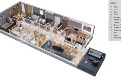 Uneinsehbarer Wohntraum mit Terrasse und Parkplatz !!
