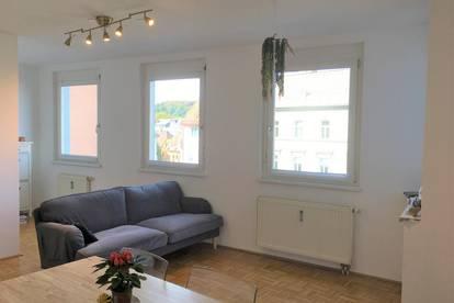 Vermietete Einzimmerwohnung im Herzen Klagenfurts