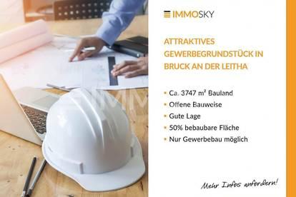 Attraktives Gewerbegrundstück in Bruck an der Leitha!