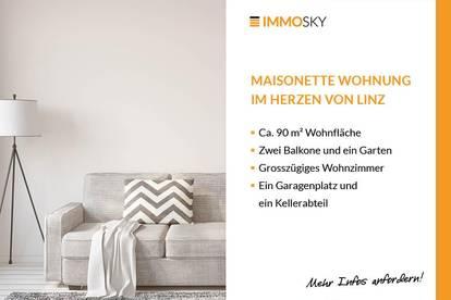 Tolle Maisonette Wohnung im Herzen von Linz