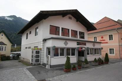 Pizzeria im Zentrum von Obervellach